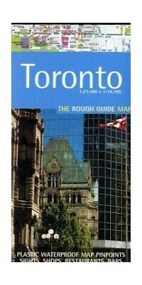 The Rough Guide Map Toronto (Edition 1) by Rough Guides Sheet map Book The Cheap