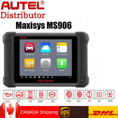 MS906 OBD2 Automotive Diagnostic Tool Scanner Autel MaxiSys Faster MaxiDas DS808