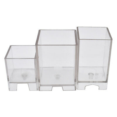 Square Shape Candle Mould PC Plastic Transparent Mold DIY for Handmade Model