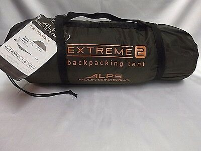 Alps Mountaineering Extreme 2 Backpacking C&ing Tent 5232617 *NEW* & ALPS Mountaineering Mystique 2.0 Tent: 2-Person 3-Season - $99.00 ...