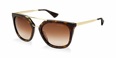 ce659a92d2 ... australia new authentic prada cinema collection tortoise gold sunglasses  spr 13q 2au 6s1 ac349 8460f