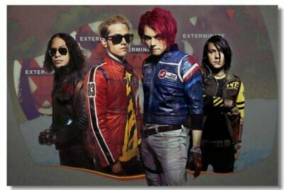 Poster My Chemical Romance Music Band Room Art Wall Cloth Print 208