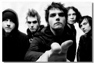Poster My Chemical Romance Music Band Room Art Wall Cloth Print 211