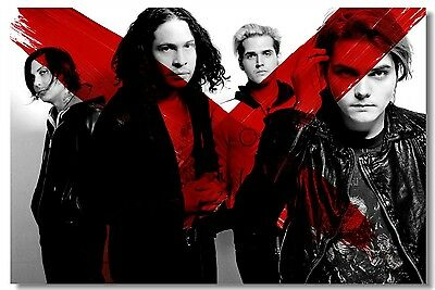 Poster My Chemical Romance Music Band Room Art Wall Cloth Print 204