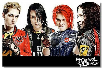 Poster My Chemical Romance Music Band Room Art Wall Cloth Print 203