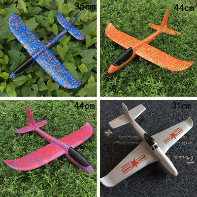 10Types EPP Foam Hand Throw Airplane Outdoor Launch Glider Plane Kids Gifts Toys