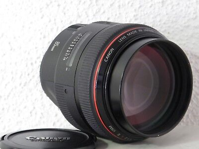 Canon EF 85 mm / 1,2 L Mark II USM