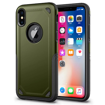 Support QI Wireless Charging Receiver Cover Shockproof Case For Iphone 7 X 8Plus