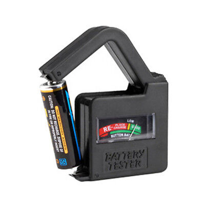 Universal Household Battery Tester For 9V 1.5V And Button Cell AAA AA C D
