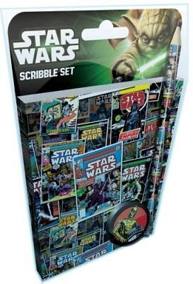 Star Wars Comic Scribble Stationery Set  Brand New Gift