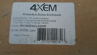 4XEM IPCAMENCLODHF Outdoor Heated Dome Enclosure