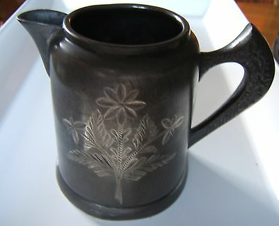 Antique/vintage Silver plated pitcher from late 1800's Silver Metal Mfg Co
