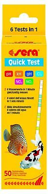 Sera Quick Test NEW! 6-fach Test Strip for Fast Water Control