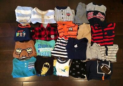 Mixed Lot Of Baby Boys 21 Items Size 6-9 Months 9 Months Outfits Shirts Shorts