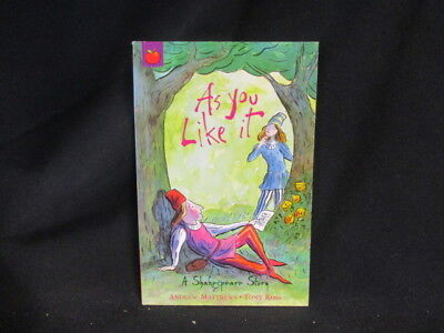 Very G: As You Like It ; Shakespeare Stories, Andrew Matth: : 9781846161872: Orc