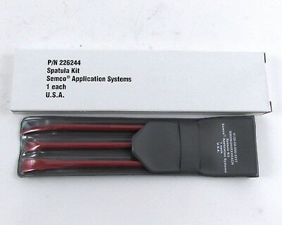 Semco 226244 Spatula Kit Sealant Spreading and Removal Tools