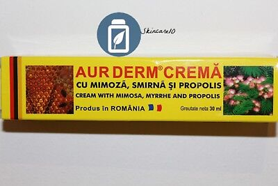 Aur Derm - Natural cream with mimosa, myrrhe and propolis
