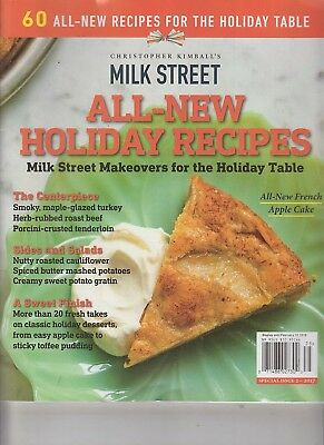 Christopher Kimball's Milk Street All-New Holiday Recipes Special Iss 2 2017