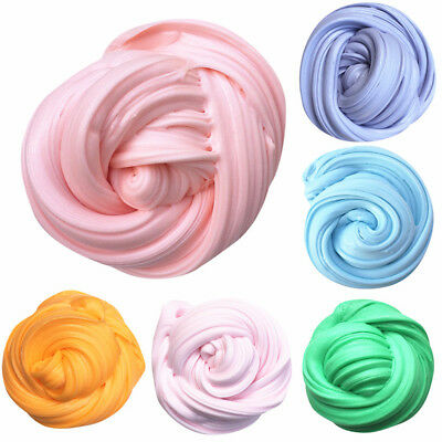 Fluffy Foam Slime Scented Stress Relief No Borax Kids Toys Cotton mud slime toys