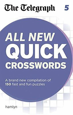 The Telegraph All New Quick Crosswords 5 (The Telegraph Puzz... by THE TELEGRAPH
