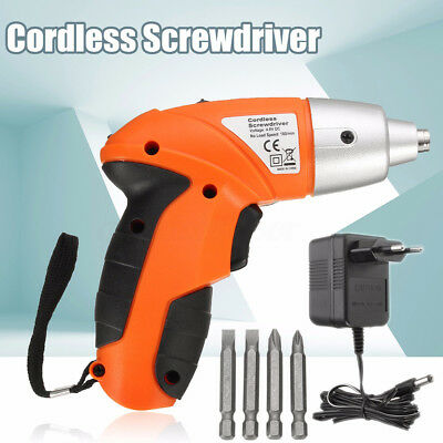 3.8V Portable Electric Battery Drill Shank Star Hex Bit Screwdriver Power Tool