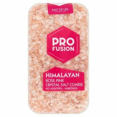 Profusion Himalayan Rose Pink Salt Coarse 500g