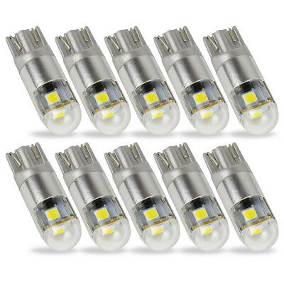 10X T10 W5W Led Car Bulb 501 168 194 3SMD 3030 Exterior Daytime Running Lights