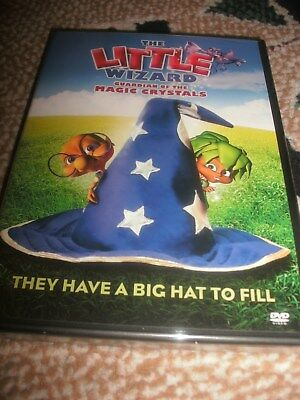 NEW! The Little Wizard Guardian of the Magic Crystals DVD They Have a Big Hat