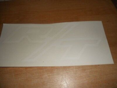 1971 Dodge Challenger Charger R/t Rt Hood Decal White