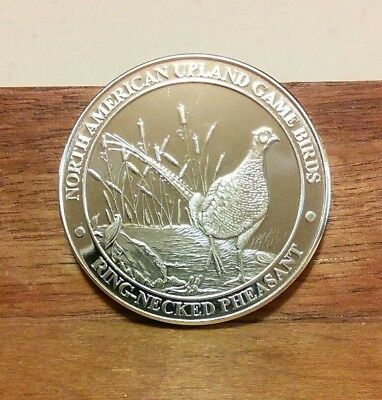 North American Upland Game Birds-Ring-Necked Pheasant Coin