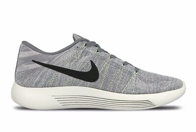 brand new a36c0 2aa79 Nike LunarEpic Low Flyknit Cool Grey Black-Wolf Grey 843764 005 MSRP  160!