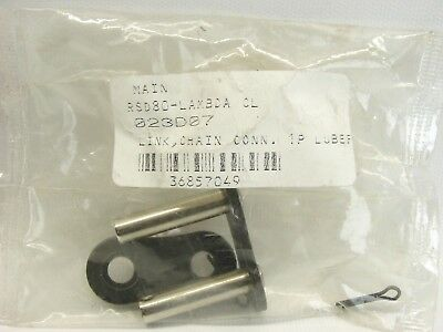 Tsubaki RSD80-LAMBDA Chain Link Connector 80 / 1 in Pitch Cottered (B468)