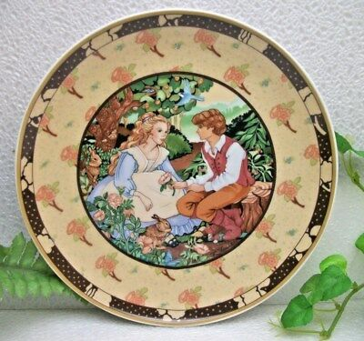 Heinrich Villeroy & Boch  Once Upon A Rhyme  ROSES ARE RED  Plate Renee Faure #1