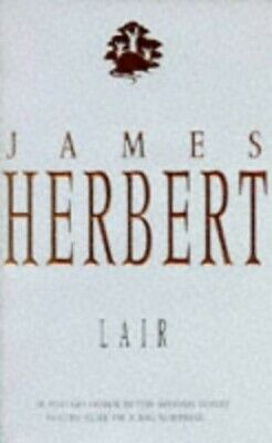 Lair: NTW by Herbert, James Paperback Book The Cheap Fast Free Post
