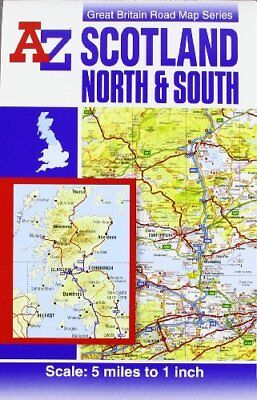 Scotland Road Map (reversible) (A-Z... by Geographers A-Z Map  Sheet map, folded
