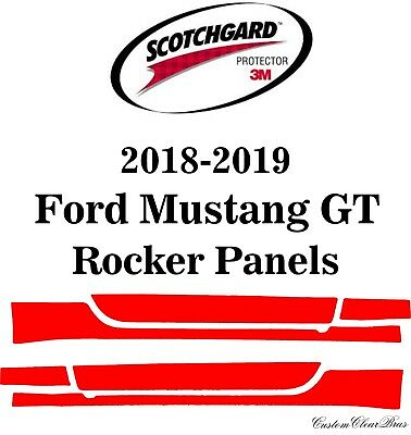 3M Scotchgard Paint Protection Film Clear Bra Pre-Cut 2018 2019 Ford Mustang GT