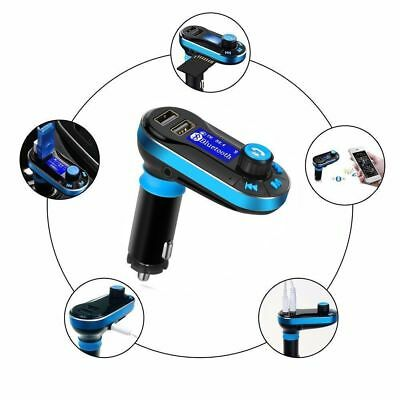 Bluetooth FM Transmitter for Car Hands Free USB Charger Radio Adapter New