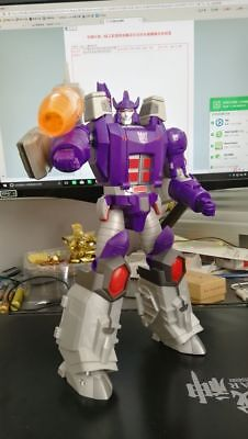 Transformers OPEN PLAY cannon OP Big spring Galvatron MP ratio