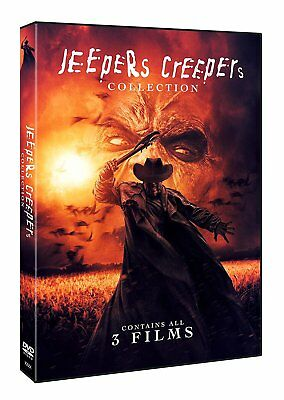 Jeepers Creepers Collection 1, 2 and 3 Trilogy UK R2 DVD 2018