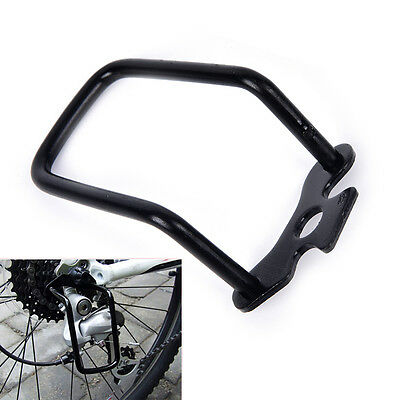 Cycling Bike Aluminum Bicycle Rear Gear Derailleur Chain Stay Guard Protector MR