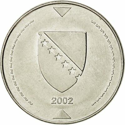 [#521336] BOSNIA-HERZEGOVINA, Konvertible Marka, 2002, British Royal Mint, SS+