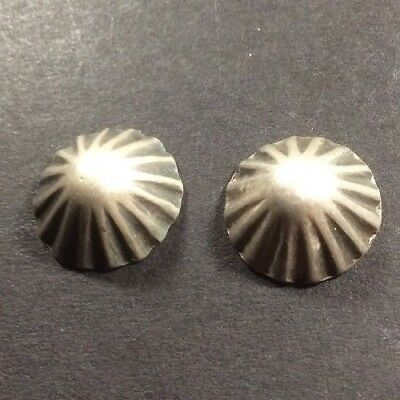 Two Vintage Matching Navajo Buttons.