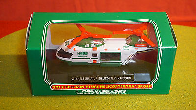 2011 Miniature Hess Helicopter Transport