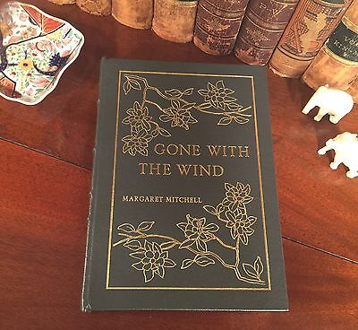 Limited Edition GONE WITH THE WIND Leather 22K Gilded Binding MARGARET MITCHELL