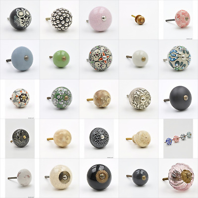 Round Ball shaped Cupboard Knobs Handles Pulls For Furniture UK Knob, Pull, Hand