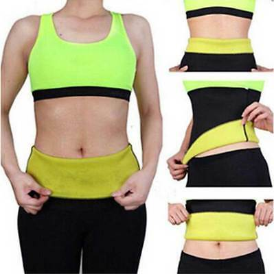 Hot Shapers Belt Slim Fit Body Shaper Belly Waist Tummy Trimmer Fat Burn Sweat
