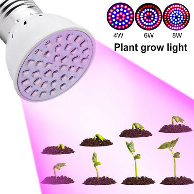 430-760nm E27 LED Grow Light 220V Lamp For Hydroponics Flowers Plant Growing 67