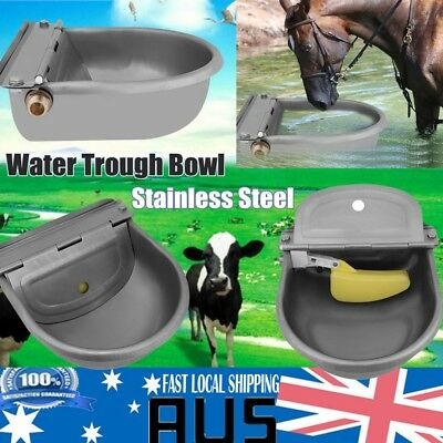 Auto Fill Bowl Stainless Steel Automatic Water Trough For Sheep Dog Chicken Cow