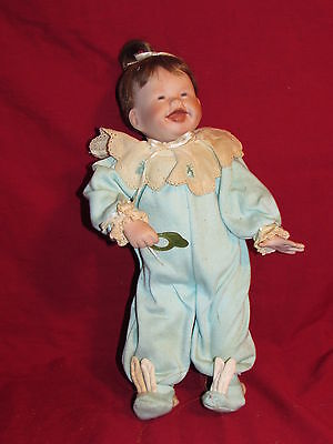"""Patricia First Tooth 15"""" Porcelain Doll by Kathy Barry Hippensteel Ashton Drake"""
