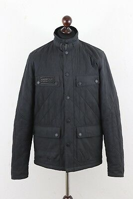 Barbour International Men's Sheene Jacket size L Quilted Fleece Lining